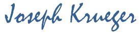 Joseph Krueger Signature